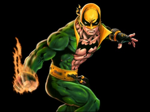 Body Part Enhanced Hand-Iron Fist DC