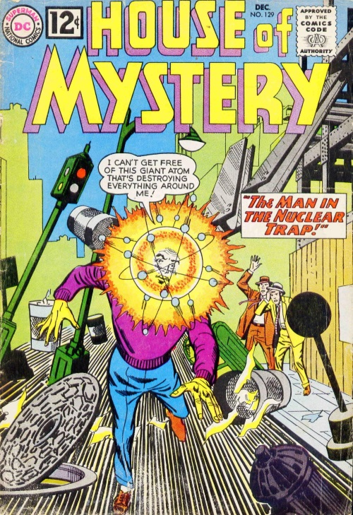 Body Part Enhanced Head–House of Mystery V1 #129