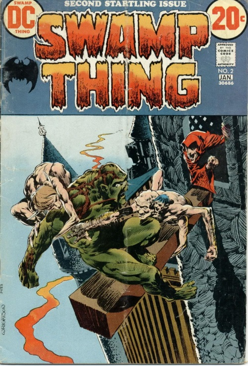 Body Part Substitution (others)-Atomic Frankenstein-Swamp Thing V1 #2