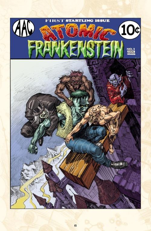Body Part Substitution (others)-Atomic Frankenstein-The Atomic Legion (Dark Horse)
