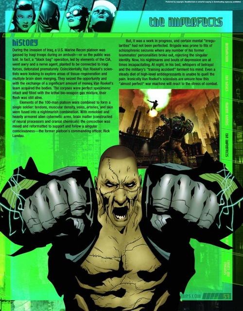 Body Part Substitution (others)-Brigade-Marvel Nemesis - Rise of The Imperfects Official Game Guide-58