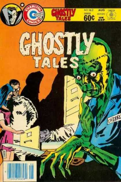 Body Part Substitution (others)-Ghostly Tales #162 (Charlton)