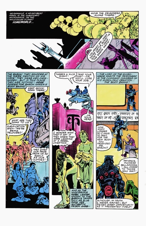Body Part Substitution (others)–Body Banks-Micronauts V1 #5 (Marvel)-12