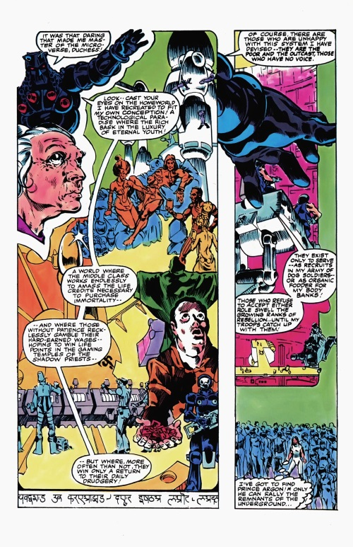 Body Part Substitution (others)–Body Banks-Micronauts V1 #5 (Marvel)-13