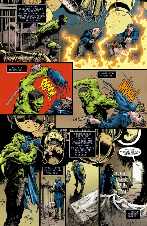 Body Part Substitution (others)–Frankenstein - Agent of S.H.A.D.E. 000 #2012 (1920)-5