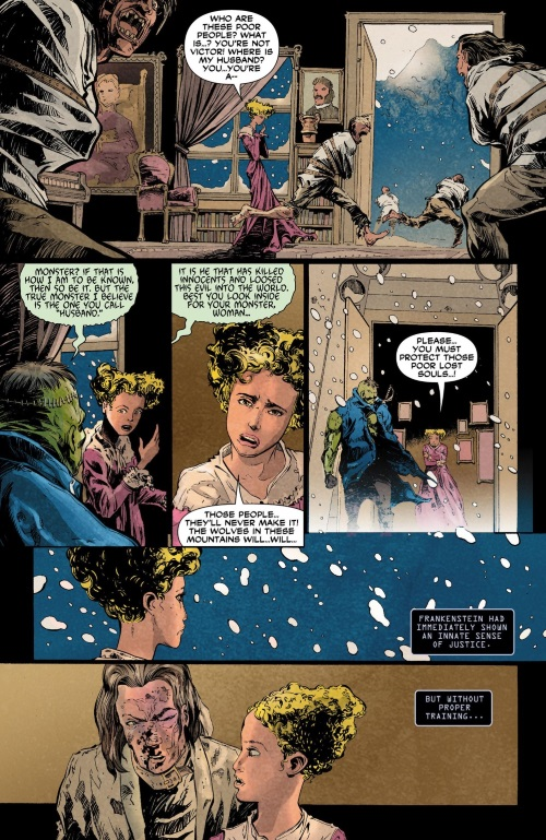 Body Part Substitution (others)–Frankenstein - Agent of S.H.A.D.E. 000 #2012 (1920)-6
