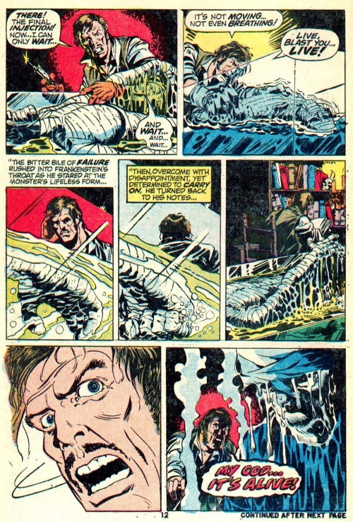 Body Part Substitution (others)–The Monster of Frankenstein #1-10