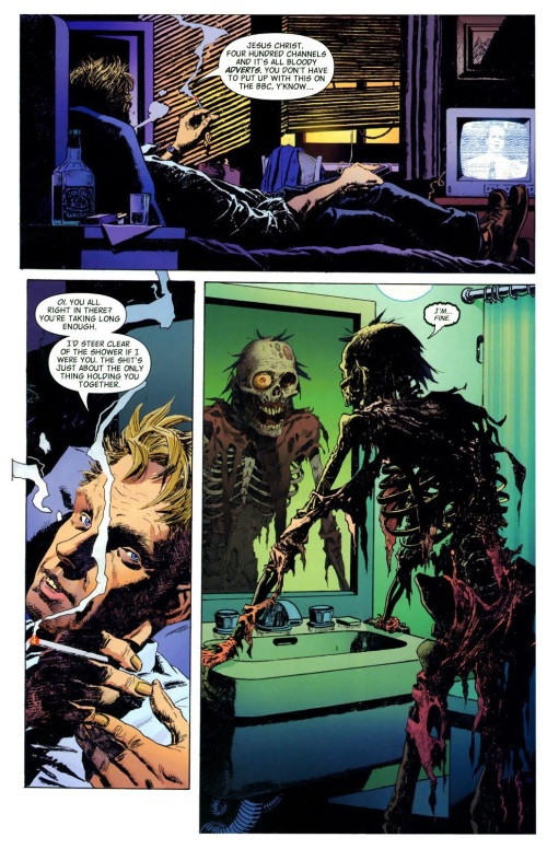 Bone Mimicry-Alec Holland-Swamp Thing V4 #1