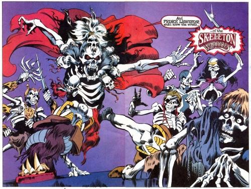 Bone Mimicry-Skeleton Warriors V1 #1-6