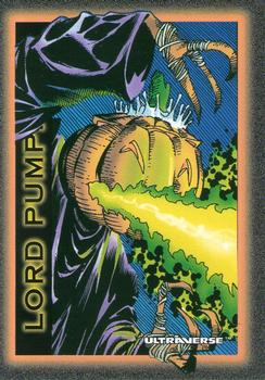 Breath (fire)-1993 SkyBox Ultraverse-64Fr Lord Pumpkin