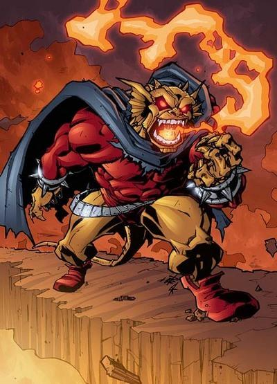 Breath (fire)-Etrigan the Demon (DC)