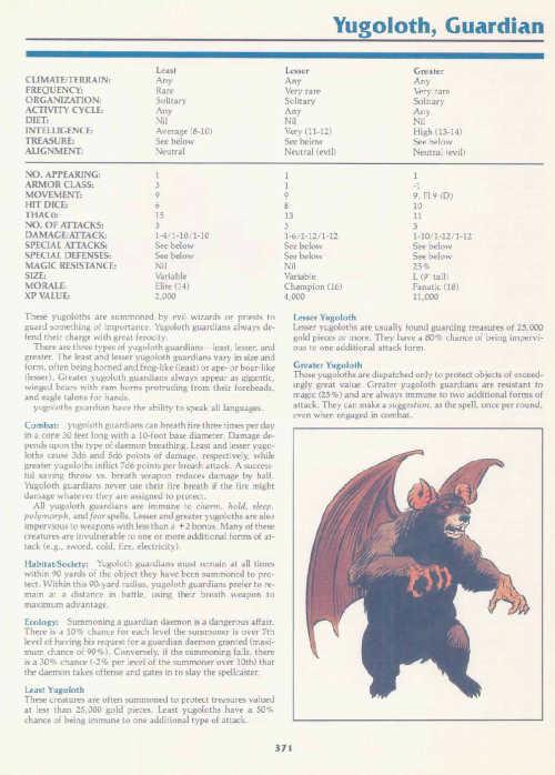 breath-fire-guardian-yugoloth-tsr-2140a-monstrous-manual