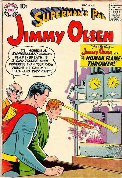 Breath (fire)-OS-Jimmy Olsen V1 #33