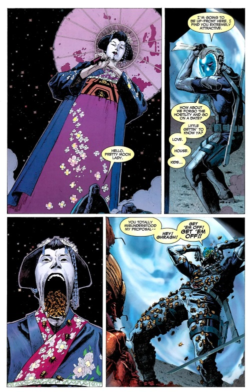 Breath (insect)-Uncanny X-Force #2 (2011)