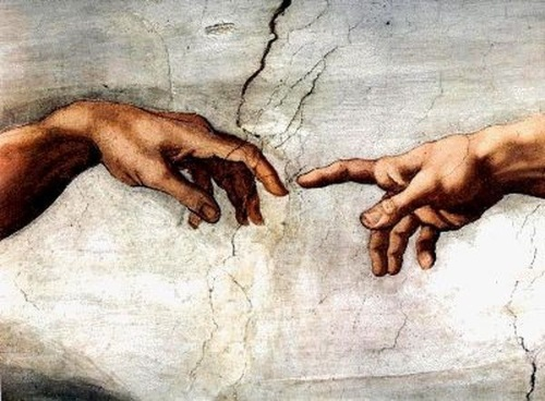 Breath (life)–The Creation of Adam-Michelangelo