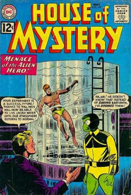Breath (water)-OS-House of Mystery V1 #122