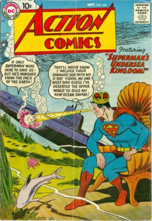 Breath (water)-OS-Superman-Action Comics V1 #244