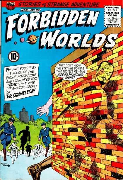 Camouflage-Dr. Chameleon-Forbidden Worlds #93 (ACG)