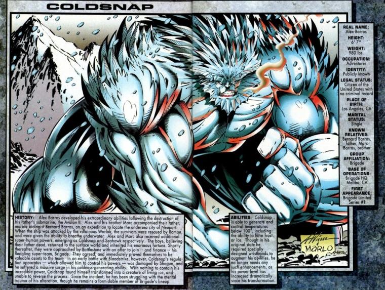 Cold Manipulation-Coldsnap-Brigade Sourcebook #1