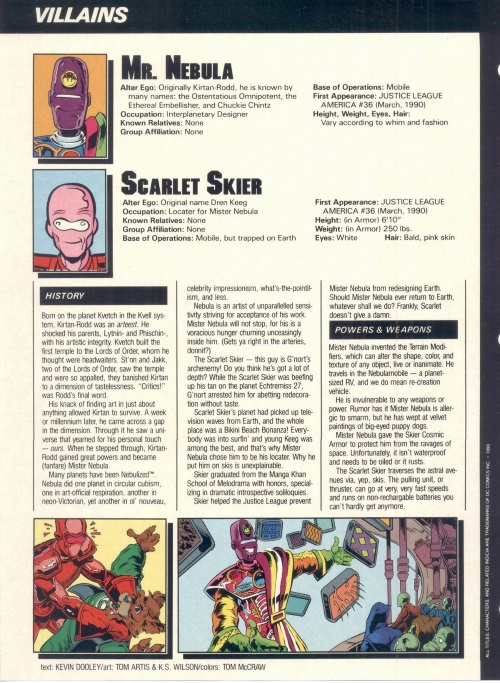 Color Manipulation-Mr. Nebula-Who's Who in the DC Universe #6