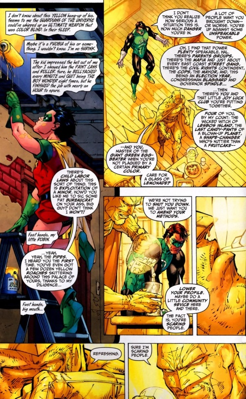 Color Manipulation-Robin-All-Star Batman & Robin the Boy Wonder #9 (DC)