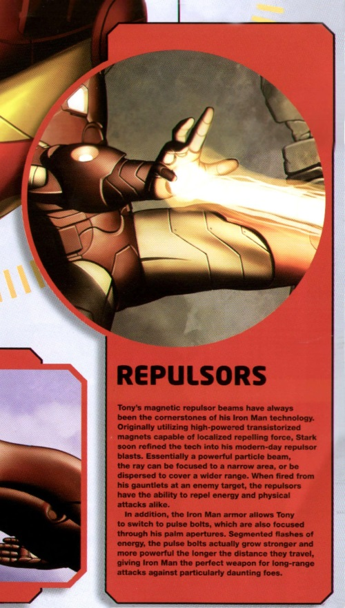 Concussion Beams-Repulsor Rays-Iron Man the Ultimate Guide (2010)