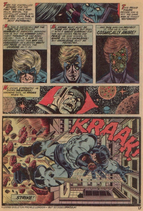 Cosmic Awareness-Captain Marvel-Captain Marvel V1 #30