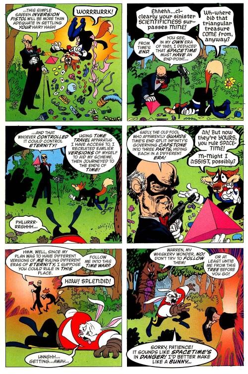 Cross Dimensional Manipulation-Clan Saveen-Tom Strong #13-17