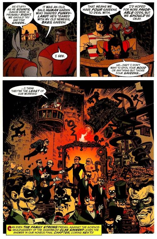 Cross Dimensional Manipulation-Clan Saveen-Tom Strong #13-19