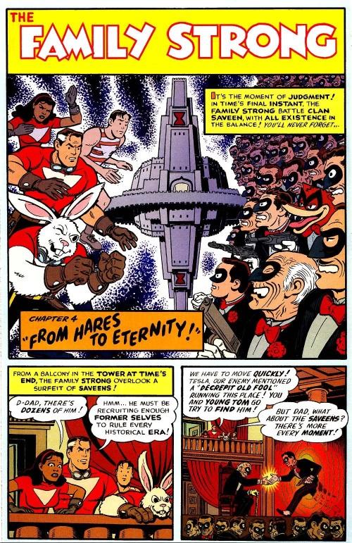 Cross Dimensional Manipulation-Clan Saveen-Tom Strong #13-20
