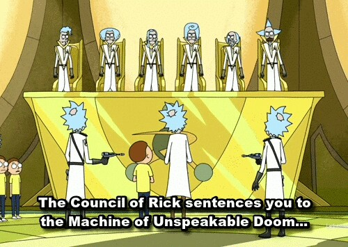 Cross Dimensional Manipulation-Council of Ricks