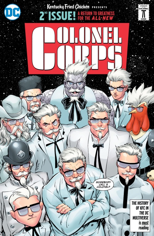 Cross Dimensional Manipulation-KFC - Crisis of Infinite Colonels (DC)