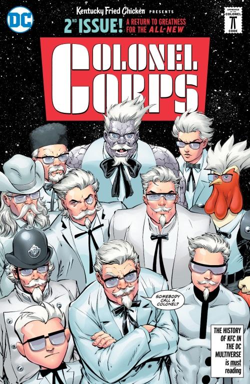 Cross Dimensional Manipulation-KFC - Crisis of Infinite Colonels (DC)
