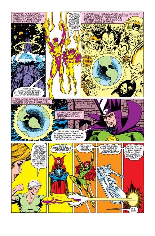 Cross Dimensional Manipulation-Korvac-What If V1 #32 (Marvel)