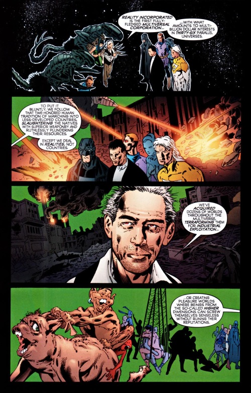 Cross Dimensional Manipulation-Reality Incorporated-The Authority V2 #3(Wildstorn)