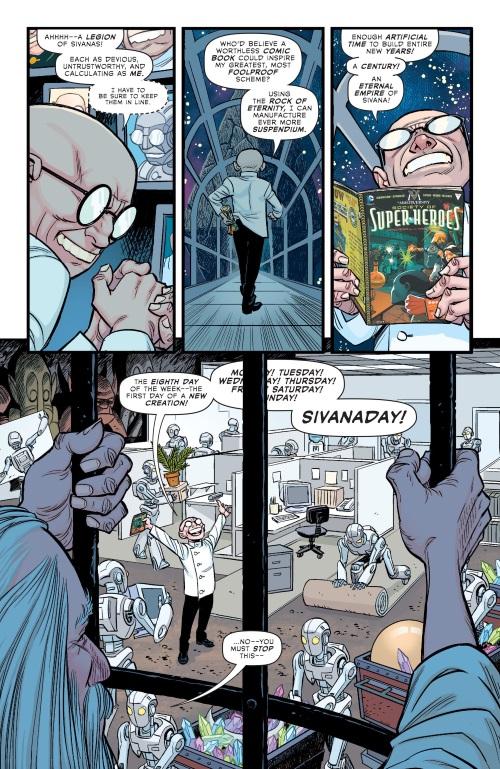 Cross Dimensional Manipulation-Sivana-The Multiversity-Thunderworld Adventures #1-11
