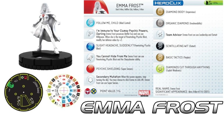 Crystal Mimicry-Emma Frost