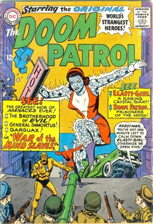 Crystal Mimicry-OS-Elasti-Girl-Doom Patrol V1 #97