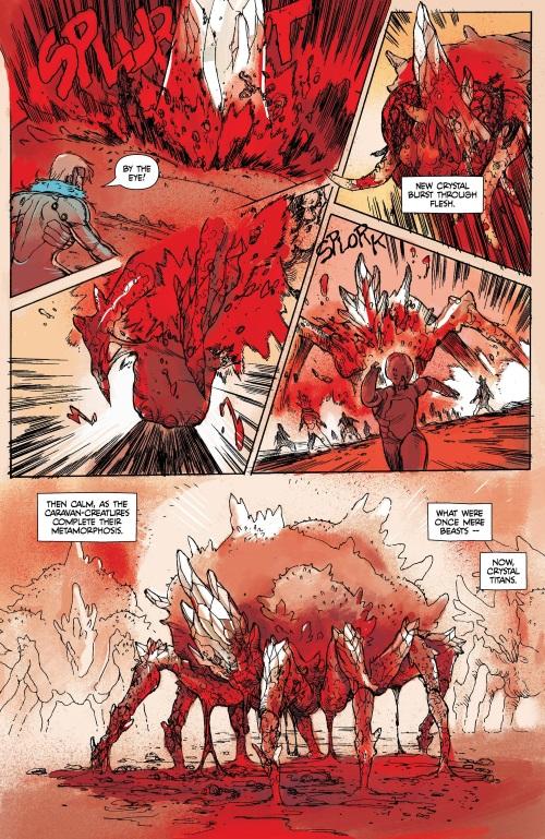 Crystal Mimicry-Prophet-Earth War #4