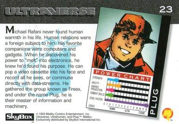 Cyberpathy-1993 SkyBox Ultraverse-23Bk Plug