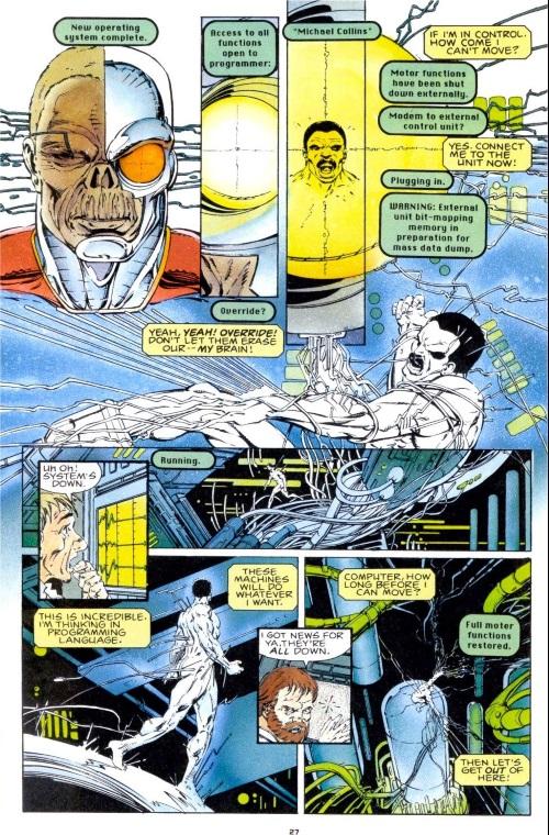 Cyberpathy-Deathlok V1 #1