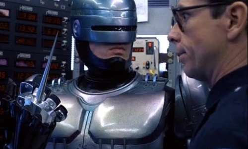 Cyberpathy-Interface Needle-Robocop