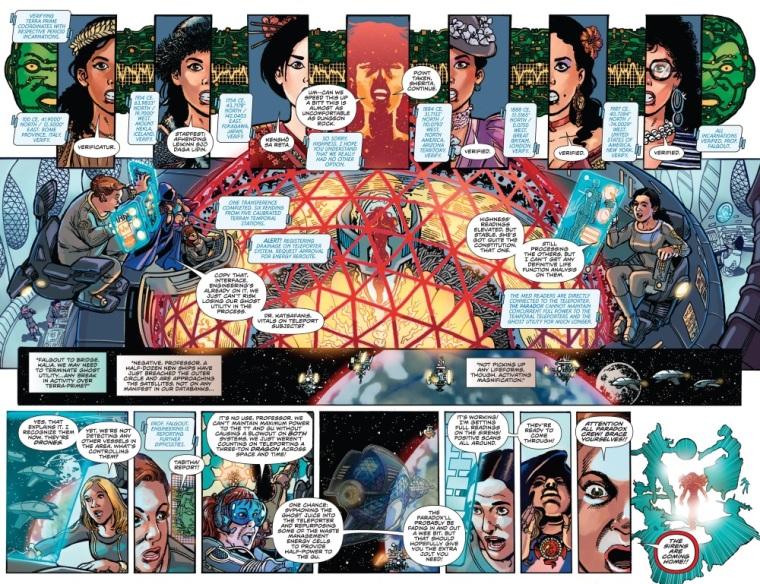 Cyberpathy-Sherita-George Perez's Sirens #1 (Boom)