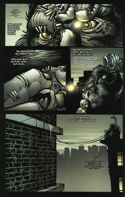 Cyborgization-Animal-Gorilla-Cy-Gor #6
