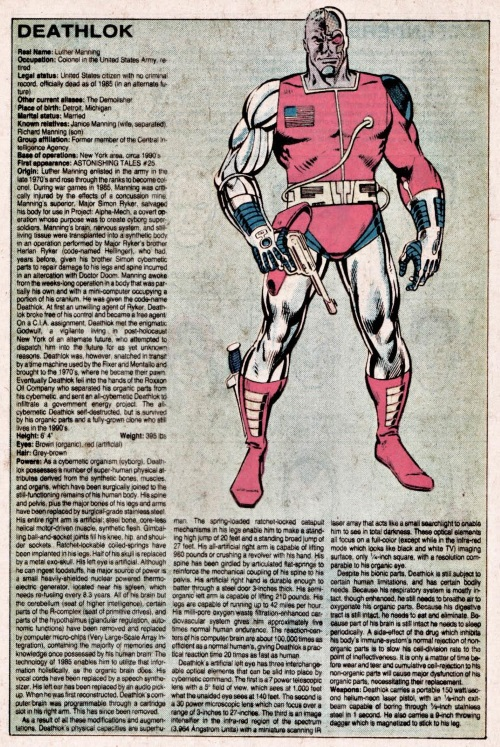 Cyborgization-Deathlok-Official Handbook of the Marvel Universe V1 #3