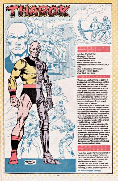 Cyborgization-Tharok-DC Who's Who V1 #23