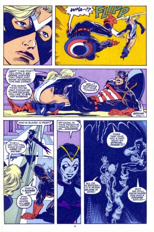 Darkness Manipulation-Shi'ar Imperial Guard-Nightside-AvengersWest #81