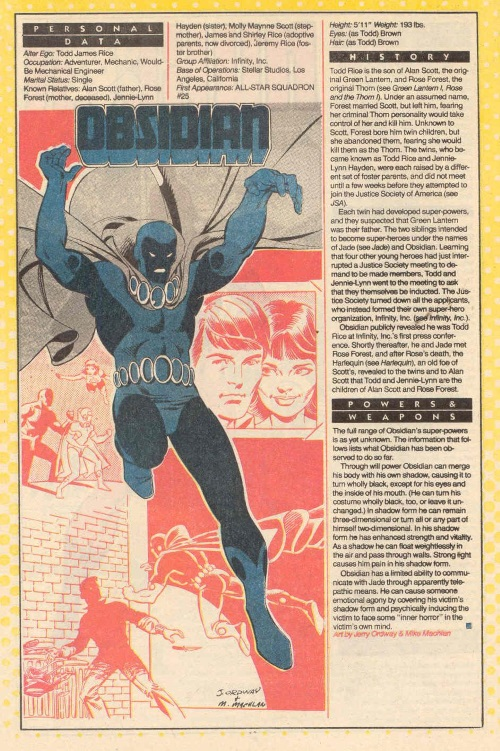 Darkness Mimicry-Obsidian-DC Who's Who V1 #17 (DC)