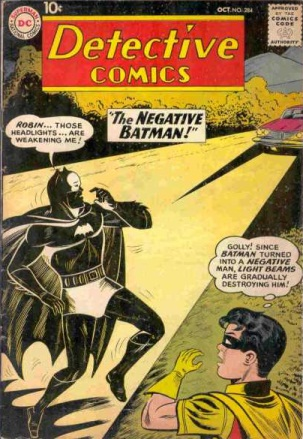 Darkness Mimicry-OS-Batman-Detective Comics V1 #284