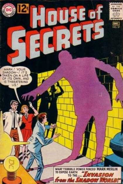 Darkness Mimicry-OS-House of Secrets V1 #57-1